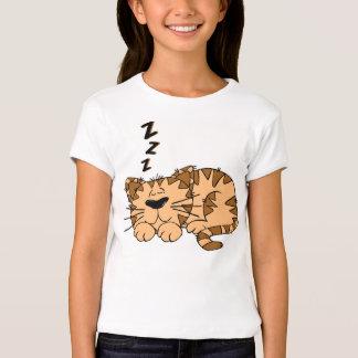 """Children T-shirt """"sleeping cat """""""