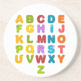 Children's Alphabet Coaster