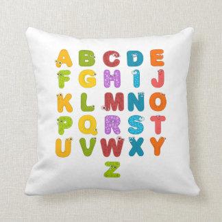 Children's Alphabet Cushion
