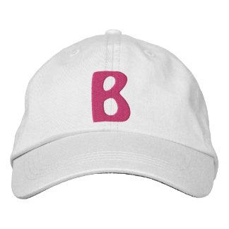 """Childrens """"B"""" Embroidered Hat"""