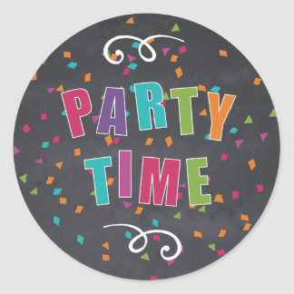 Childrens Birthday Party - Sticker