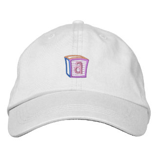 Childrens Block A Embroidered Hat