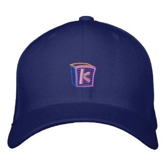 Childrens Block K Embroidered Hat