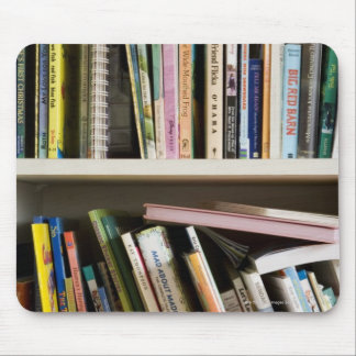 Childrens Bookshelf Mouse Mat