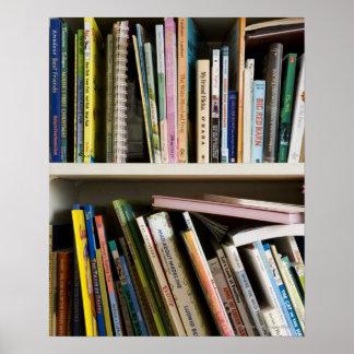 Childrens Bookshelf Posters