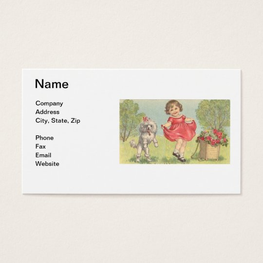 Children's Boutique Business Card