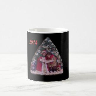 CHILDREN'S CAROLS 113 CHRISTMAS VILLAGE MUGC CLASSIC WHITE COFFEE MUG