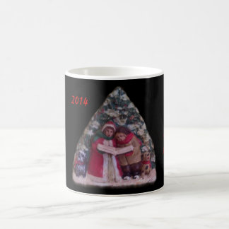 CHILDREN'S CAROLS 113 CHRISTMAS VILLAGE ORNAMENT BASIC WHITE MUG