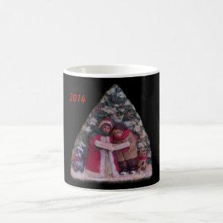 CHILDREN'S CAROLS 113 CHRISTMAS VILLAGE ORNAMENT CLASSIC WHITE COFFEE MUG