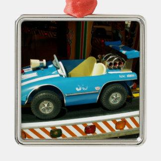 Children's Carousel Car. Christmas Ornament