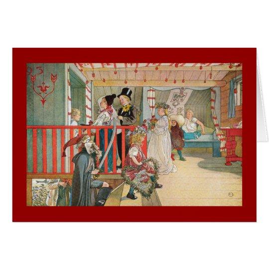 Children's Christmas Parade Card