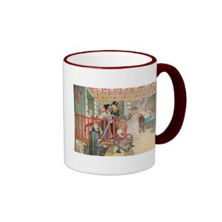 Children's Christmas Parade Ringer Mug