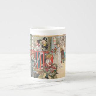 Children's Christmas Parade Porcelain Mugs