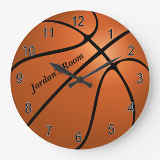 Children's Clock Basketball