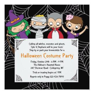 Children Halloween Party Invitations & Announcements | Zazzle.co.uk