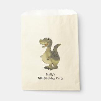 children's fun dinosaur birthday party favour bags