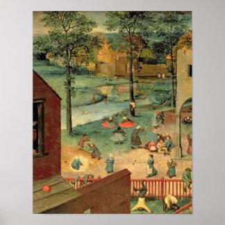 Children's Games , 1560 Poster