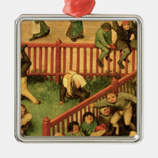 Children's Games : detail of left-hand section Christmas Ornament