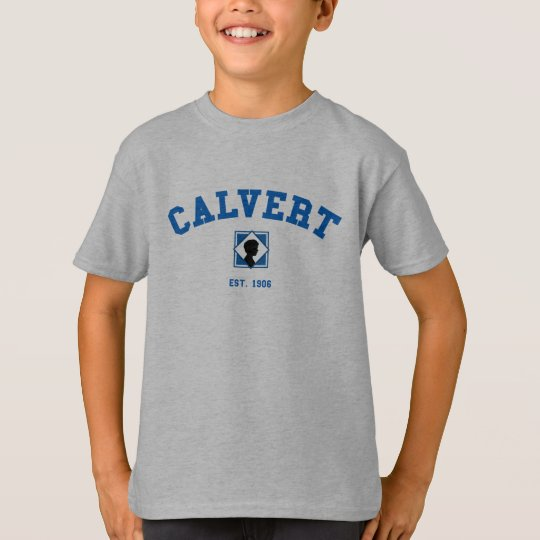 Children's Grey Calvert T-Shirt