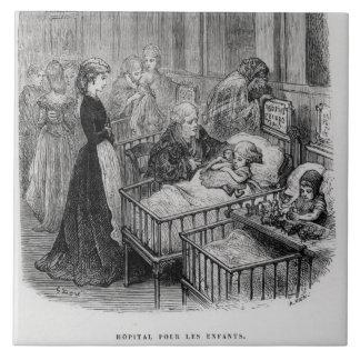 Children's Hospital, from 'London: A Pilgrimage' b Tile
