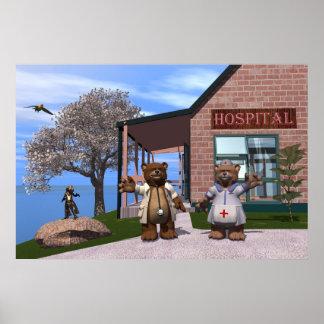 Childrens hospital poster