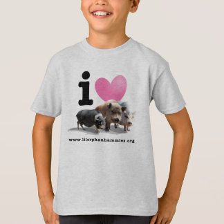 Children's I <3 Pigs Tee