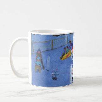 childrens ice rink Clusaz 2014 Coffee Mug