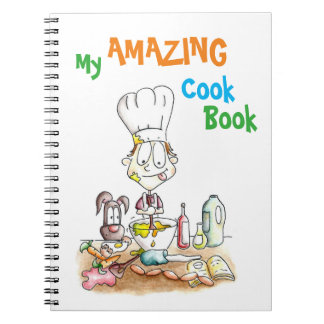Children's Illustrated Recipe Notebook