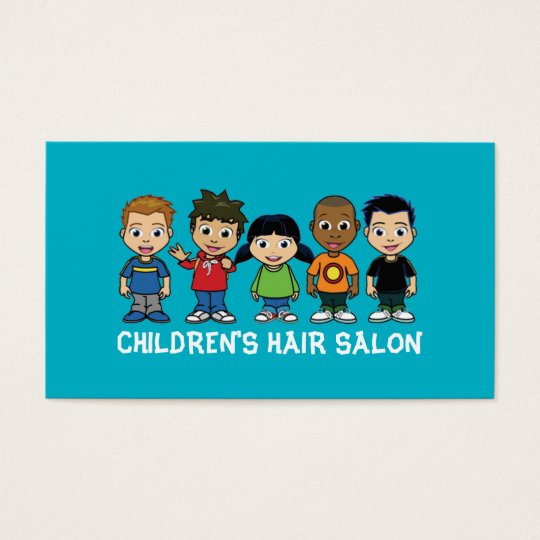 Children's Kids Hair Salon Stylist Shop Beauty Business