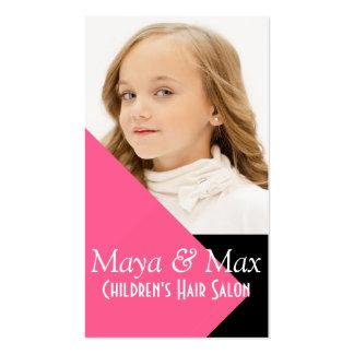 Children's Kids Hair Salon Stylist Shop Beauty Pack Of Standard Business Cards