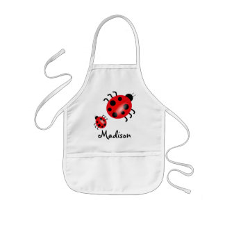 Children's Lady Bug Craft Aprons