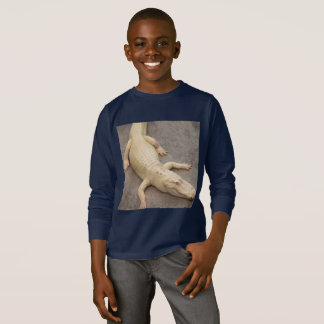Children's long sleeve alligator shirt