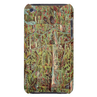 Children's Map of the United States Barely There iPod Covers
