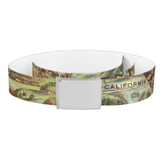 Children's Map of the United States Belt