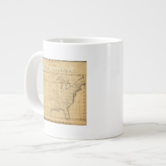 Children's Map Of The United States Giant Coffee Mug