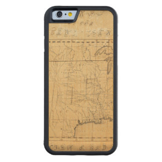 Children's Map Of The United States Maple iPhone 6 Bumper Case