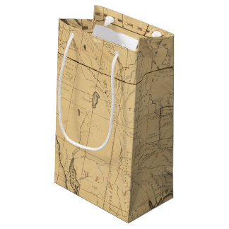 Children's Map Of The United States Small Gift Bag