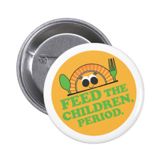 Children's Meal Mission Button - Green Text