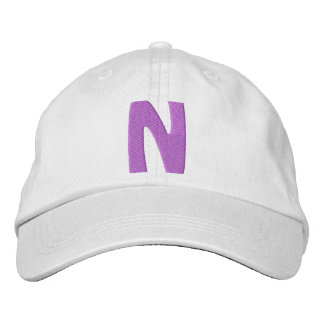 "Childrens ""N"" Embroidered Hat"