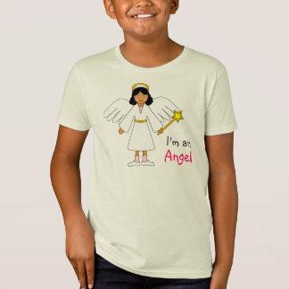 """Children's Nativity -- Cute """"I'm an Angel"""" design T-Shirt"""