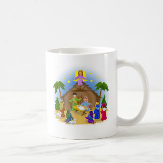 Children's Nativity  mug key chain necklace phone