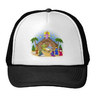 Children's Nativity  mug key chain necklace phone Trucker Hat