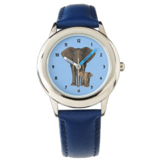 Childrens numbered Elephant Watch