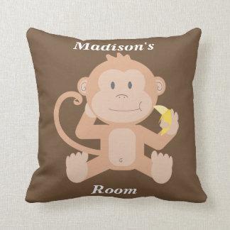 Children's Pillow Cute Baby Monkey