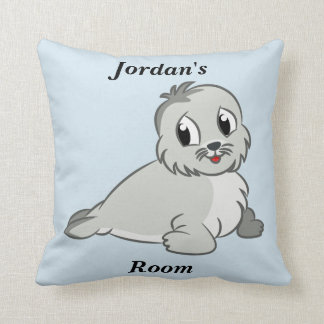 Children's Pillow Cute Baby Seal