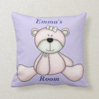 Children's Pillow Cute Baby Teddy Bear
