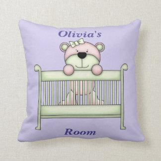 Children's Pillow Cute Teddy Bear