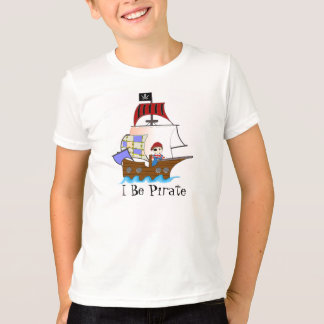 Children's Pirate Ship T-shirt