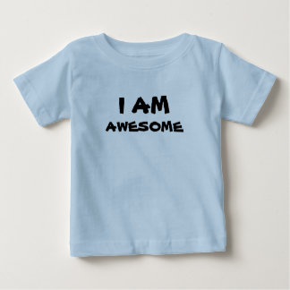 childrens T shirt - I AM AWESOME print