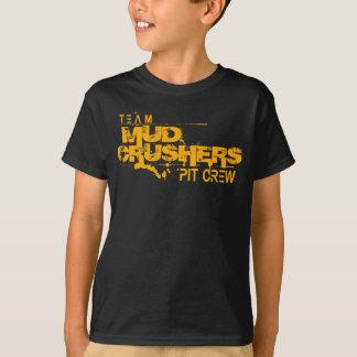 Children's Team Mud Crushers Pit Crew T-shirt